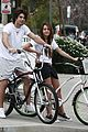 miley cyrus justin gaston bike ride 01
