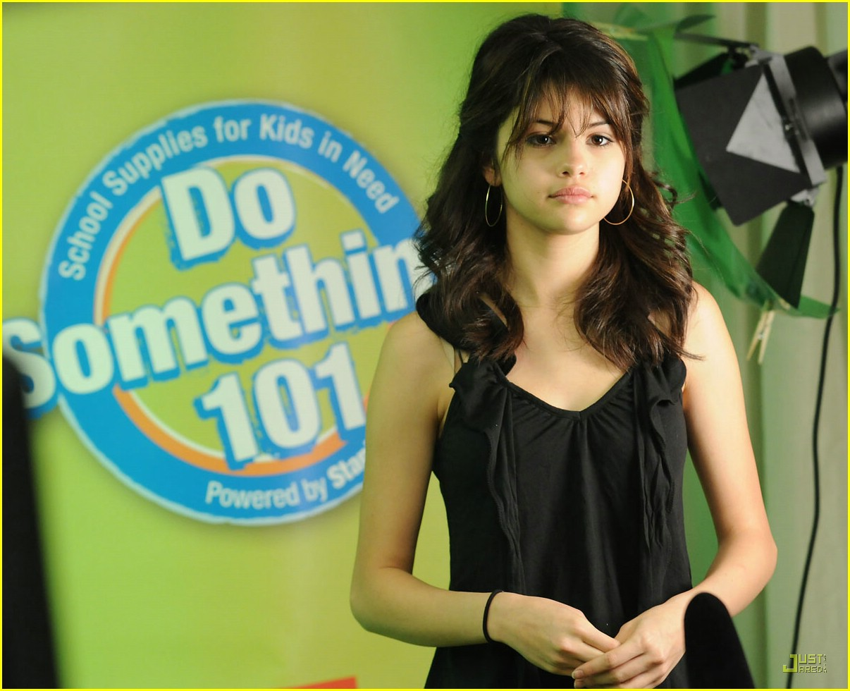 images Selena gomez psa at a school photoshoot in los angeles