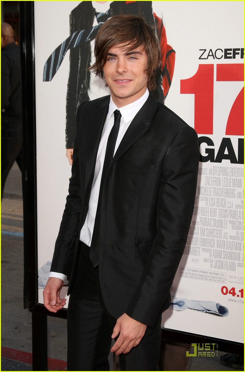 Zac Efron Premieres 17 Again (And Again!)