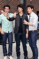 jonas brothers david letterman 07