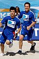 taylor lautner face sand football 02