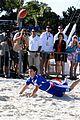 taylor lautner face sand football 17