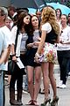 selena gomez leighton meester high five 04