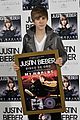 justin bieber madrid gold record 26