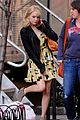 emma stone yellow dress amazing spider man set 02