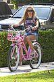 ashley tisdale bike ride 01