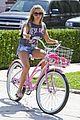 ashley tisdale bike ride 05