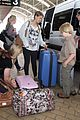 bindi irwin sydney airport 07