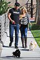 tiffany thornton chris walk dogs 08