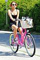 miley cyrus pilates bike ride 01