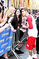 justin bieber letterman nyc 03