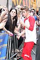 justin bieber letterman nyc 11