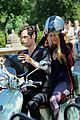 blake lively penn badgley vespa 09