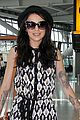 cher lloyd craig heathrow airport 03