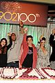 90210 cast celebrate 100 episode 16