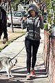 miley cyrus dog walk monday 01