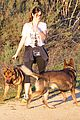 nikki reed hike hills dogs 06