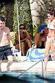 joe jonas kevin jonas girls poolside 14