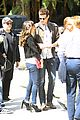 cory monteith lea michele canucks game cute 12