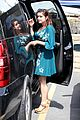 ariel winter blue dress farmers market 05