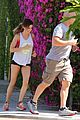 ashley tisdale jogs with her trainer in weho 05