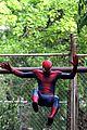 andrew garfield emma stone spider man 2 night shoot stunts 17