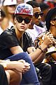 justin bieber sits courtside at miami heat playoff game 01