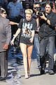 miley cyrus jimmy kimmel live arrival 2 08