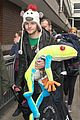 the wanted jay mcguiness carries froggy friend at the airport 04