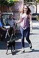 kristen stewart walks her brand new dog 08