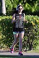 lucy hale running maui 09