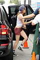 kristen stewart grabs snacks for camp x ray set 01