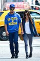 taylor lautner marie avgeropoulos holding hands soho 01