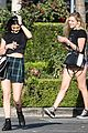 kendall kylie jenner separate lunch outings 09