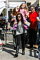 ariel winter makes a furry friend at the farmers market 13