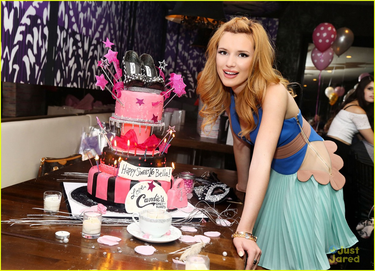 bella thorne sweet 16 birthday party pics photo 606254 photo