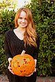 debby ryan francesca capaldi pumpkins 01