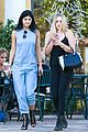 kendall jenner kylie jenner separate outings friends 06