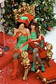 lea chris naya glee christmas scenes 07