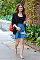 lily collins lunch meeting 06