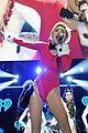 miley cyrus santa body suit at atlanta jingle ball 23