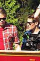 chord overstreet darren criss glee films on tour bus 09