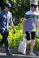 joe jonas blanda eggenschwiler romantic beach stroll hawaii 25