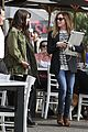 ashley tisdale shenae grimes lunch toast 09