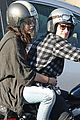 josh hutcherson motorcycle spin with mystery gal 03