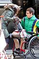kevin mchale wheelchair crash glee scenes 01