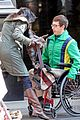 kevin mchale wheelchair crash glee scenes 14