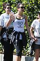 lea michele hike before kcas 07
