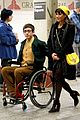 lea michele kevin mchale glee grand central 11