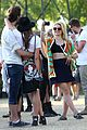 dianna agron tribal camera coachella 09